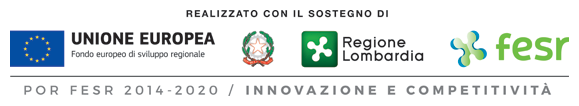 Made by the European Union, Italian Republic, Lombardy Region and ERDF (European Regional Development Fund)